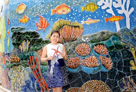 Mosaic Vietnam Ocean